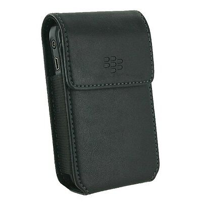 Blackberry Curve Belt Clip - BlackBerry Synthetic Leather Case W/Swivel Belt Clip For BlackBerry Curve 8350i