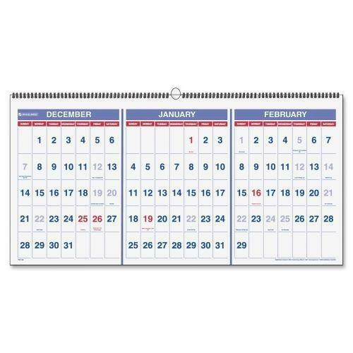 3 Month Calendar Ebay