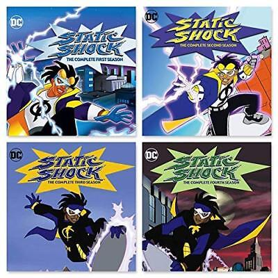 STATIC SHOCK: The Complete seasons 1-4 (DVD, 8 discs) seasons 1,2,3,4