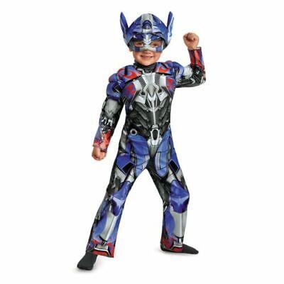 Girl Transformer Costume (NEW Halloween Costume Boy's Toddlers Transformers Optimus Prime 2T)