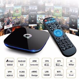 2017 Q-Box Android 6.0 TV Box Media Player - WIFI Kodi 16.1