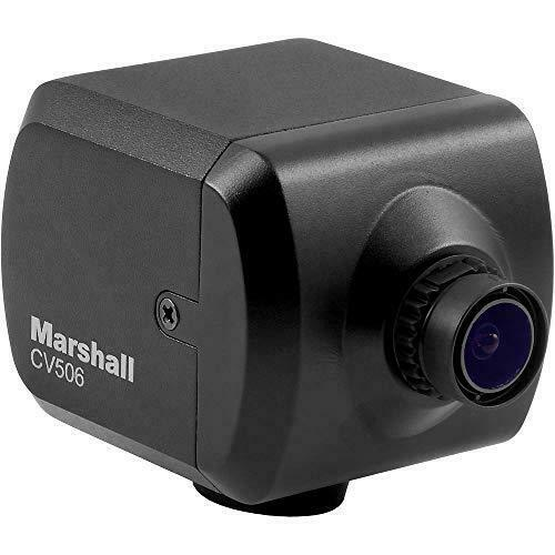 Marshall CV506 HD Miniature Camera with M12 Mount & Interchangeable 3.6mm Lens