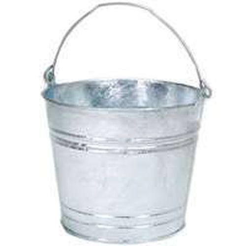 Galvanized Metal Bucket Ebay