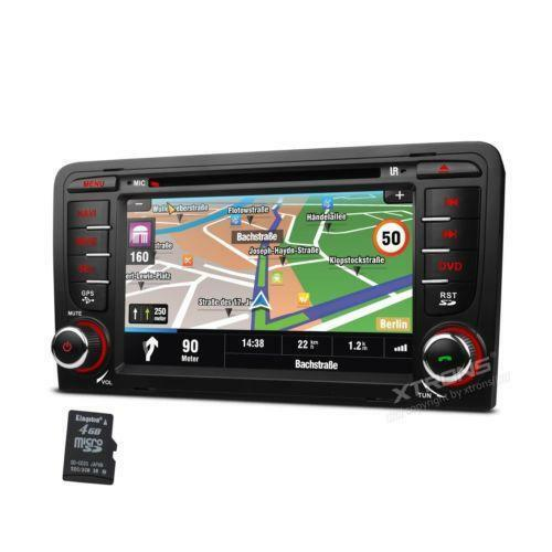 audi a3 stereo vehicle electronics gps ebay. Black Bedroom Furniture Sets. Home Design Ideas