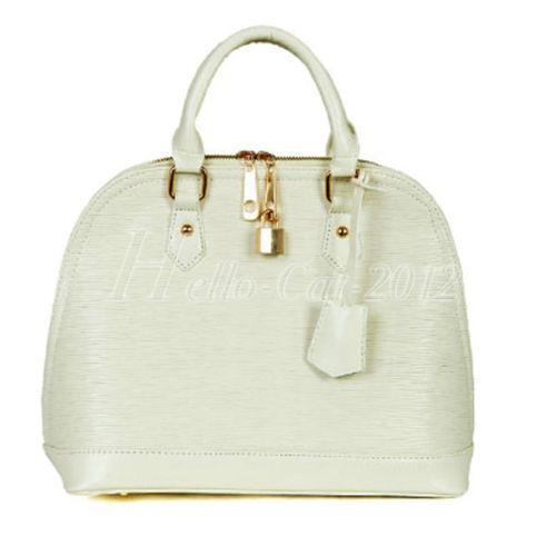White Leather Crossbody Purse Ebay