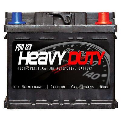 PRO 12v HEAVY DUTY 063 Car Battery 45ah 390cca   4 year warranty