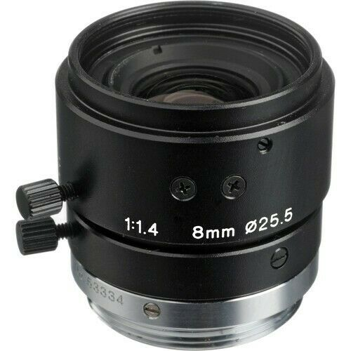 2/3 8mm Lens F/1.4 with Lock