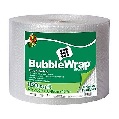 Bubble Wrap Cushioning 12 X 150 Ft Single Roll Packing Mailing Moving Shipping