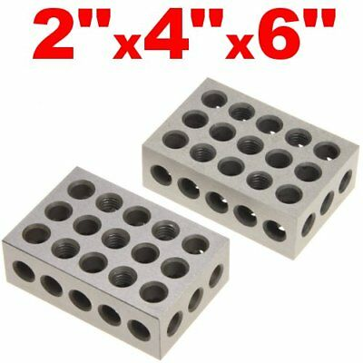 Precision Pair Mill 2-4-6 246 Block Set Machinist Tool