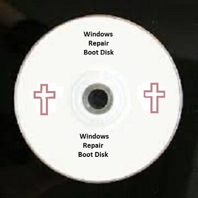 Windows 7 Restore Repair Boot Disk For All 64 Bit System Install Boot Cd