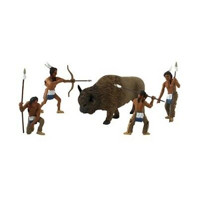 Woodland Scenics SP4444 Scene-A-Rama Scene Setters Native American Hunters - Nativity Scene Setters