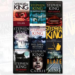 Stephen King Novel The Dark Tower 9 Books Collection Set(Full dark, no stars)New