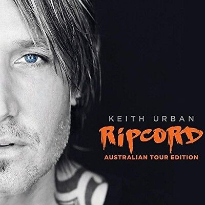 Keith Urban   Ripcord  Australian Tour Edition   New Cd  Australia   Import