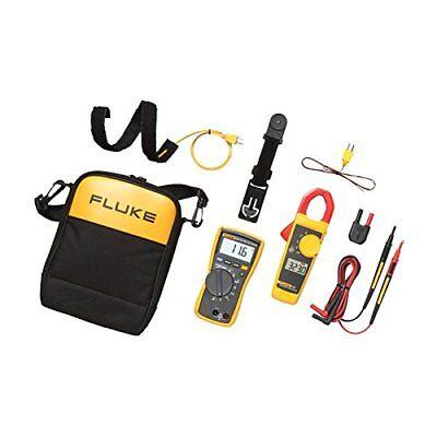 Fluke 116323 Kit Hvac Multimeter And Clamp Meter Combo Kit New