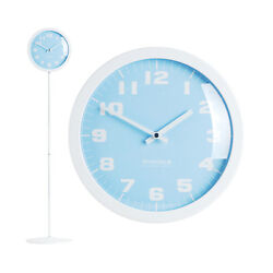 Modern Stand Floor Clock Home Decor Interior Separate Stand Clock - Pastel(Blue)