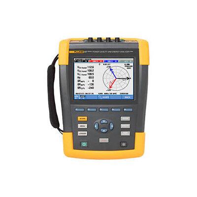 Fluke 437-iibasic 3-phase Power Qualityenergy Analyzer No Probes