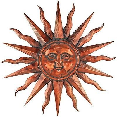 Sun Wall Art Hanging Metal Indoor Outdoor ...