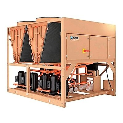 2018 YORK 60 ton Air Cooled Chiller 208V NEW, warranty COATED COILS for Coastal!