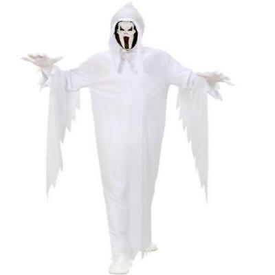 Geist Kinder Geister Kostüm weiß mit Maske Gr - Kinder Scream Kostüme