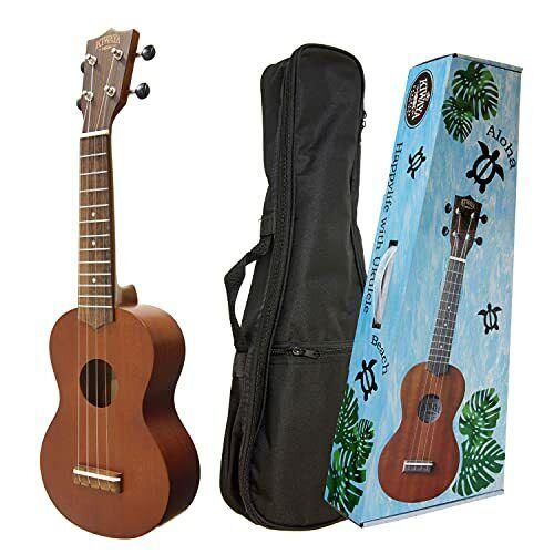 KIWAYA KSU-1 Soprano ukulele with soft case