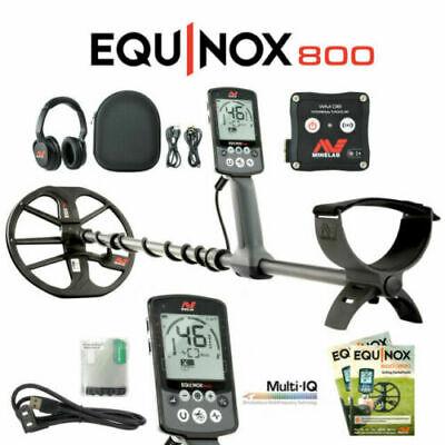 MULTI FREQUENCY MINELAB EQUINOX 800 Metal Detector
