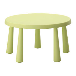 MAMMUT IKEA Children's table with 2 chairs.