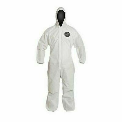 Dupont Proshield Coverall With Hood Protective Suit M L Xl 2xl 3xl