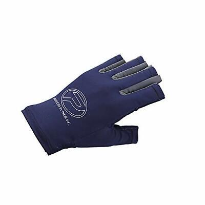 Prox Light Stretch glove 5 cuts Navy Gray Free size From Stylish anglers Japan
