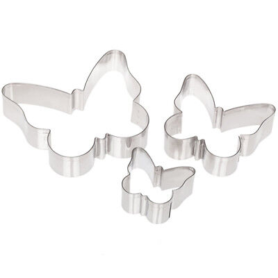 Ateco Stainless Butterfly Cutters, 3-Piece Set