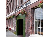Part time chef and KP vacancies - Old Harkers Arms, Chester