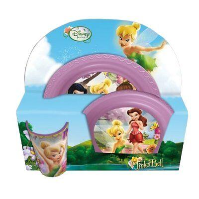 Disney Fairies Feen Trinkbecher/Becher+Suppen Teller+Dinner Teller NEU