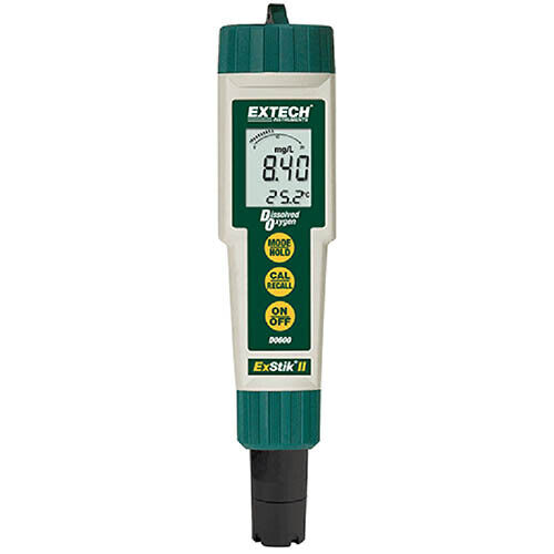 Extech DO600 Waterproof ExStik II Dissolved Oxygen Meter DO sensor