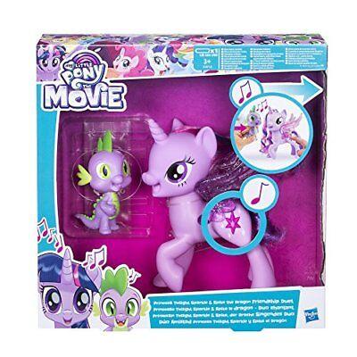 Hasbro My Little Pony C0718100 - Movie Prinzessin Twilight Sparkle und Spik