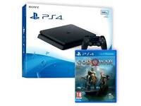 Ps4 console bundle with 2 games