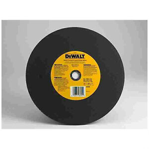 . 14 IN. ABRASIVE CUT OFF SAW BLADES FOR STEEL AND CONCRETE