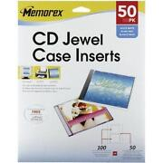 Memorex Jewel Case Inserts