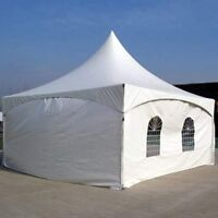 Outdoor tents, chair and table rentals