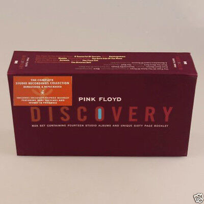 PINK FLOYD DISCOVERY 16 CD BOX SET SEALED FREE SHIPPING!! Box Set!!