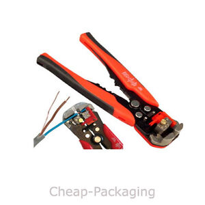 HD Terminal Crimp Electrical Automatic Crimper Crimping Tool Wire Stripper Plier  eBay