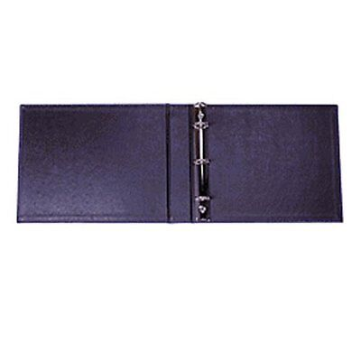 3 Ring Check Binder 3 On- A-page Business Compact Check Book Binder Blue