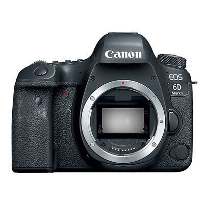 Canon EOS 6D Mark II Digital SLR Camera Body 26.2 MP Full-Frame
