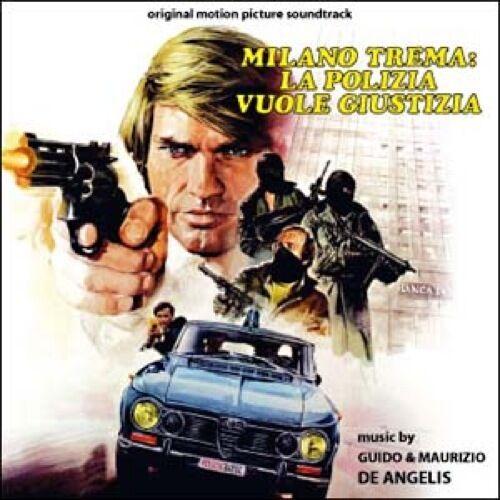 Guido & Maurizio De Angelis: Milano Trema - La Polizia Vuole Giustizia (Seal CD)