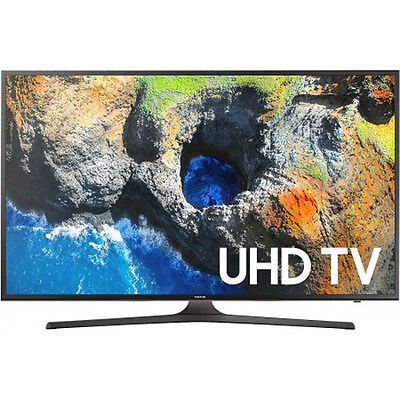"Samsung 50"" Smart LED HDTV with 4K Resolution, 3 HDMI & 2 USB Ports & WiFi Ready"