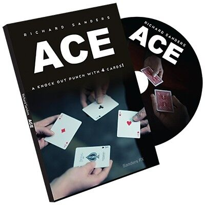 ACE (Cards and Online Instructions) by Richard Sanders - Magic Trick (Richard Sanders Ace)