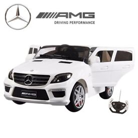 LICENSED MERCEDES ML63 AMG RIDE-ON TOY