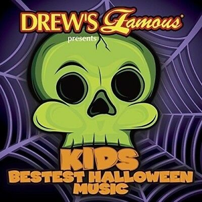 Kids Bestest Halloween Music by Various Artists (CD, Aug-2017, Drew's) NEW](Halloween Music 2017)