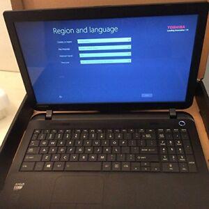 Laptop Toshiba AMD 4GB 500GB