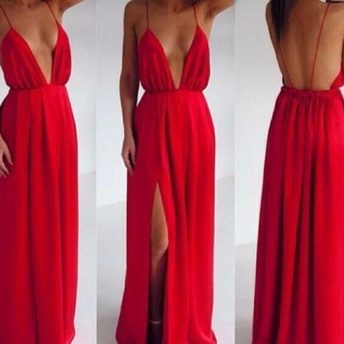 00ddce094ba Backless Maxi Dress