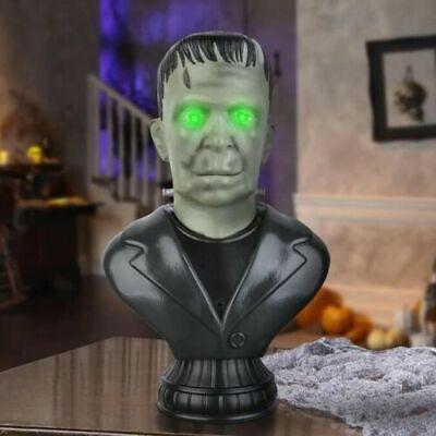 Gemmy Animated Frankenstein Head Bust Halloween Prop