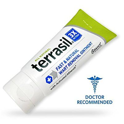 Wart Care - Terrasil Fast & Natural - Wart Care Ointment - Doctor Recommended - Acid Free